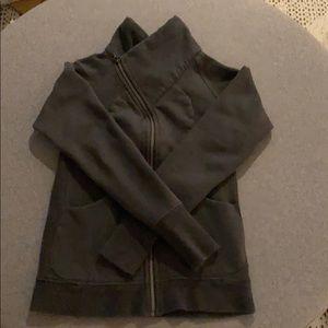 Lululemon sweatshirt cozy cuddle up zip up jacket
